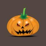 Tête de potiron de Halloween illustration libre de droits