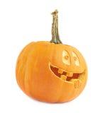 tête de potiron de Halloween de Jack-o'-lanternes Photographie stock libre de droits