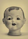 Tête de poupée Photographie stock