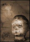 Tête de poupées Photo libre de droits