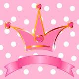Tête de princesse illustration de vecteur