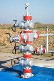 Tête de puits de production Photos stock