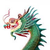 tête de sculture de dragon Images libres de droits