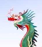 tête de sculture de dragon Photo libre de droits