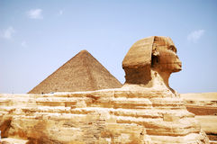 Tête de sphinx Photographie stock libre de droits