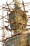 Tête de statue de Bouddha images libres de droits