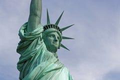 Tête de statue de la liberté Photographie stock libre de droits