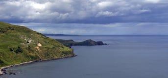 Tête de torr, côte d'Antrim Image libre de droits