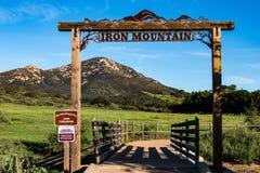 Tête de traînée d'Iron Mountain dans Poway, la Californie image stock