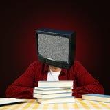 Tête de TV Images libres de droits