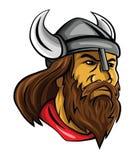 Tête de Viking Photos stock
