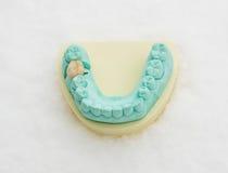 Tête dentaire photo stock