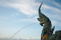 Tête des statues Na-GA Image stock
