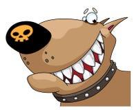 Tête du crabot illustration de vecteur