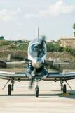 Tête du Texan II de Beechcraft T-6A dessus avant décollage image libre de droits