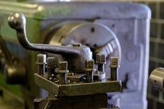 Tête en métal de machine sur l'usine Image libre de droits