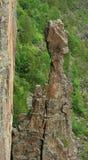 Tête indienne à la gorge d'Ouimet Image stock