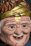 Tête modèle d'ermite pour la marionnette (marionnette) Images stock