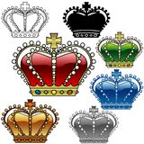 Tête royale C illustration libre de droits