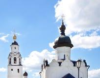 Têtes d'église Photos libres de droits