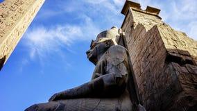 Têtes d'Abu Simbel, Egypte, Afrique Photo stock
