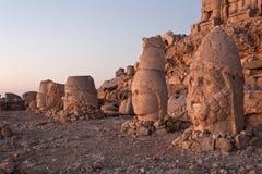 Têtes de dagi de Nemrut. Photos libres de droits