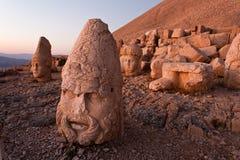 Têtes de dagi de Nemrut. Images libres de droits