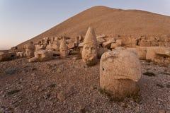 Têtes de dagi de Nemrut. Images stock