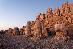 Têtes de dagi de Nemrut. Photo libre de droits