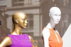 Têtes de mannequin Photographie stock libre de droits