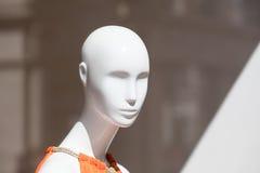 Têtes de mannequin Photos stock