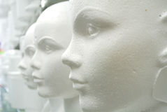 Têtes de mannequin image libre de droits