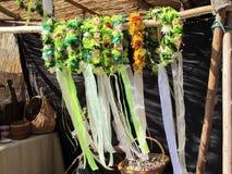 Têtes des fleurs Image libre de droits