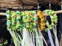 Têtes des fleurs Images stock
