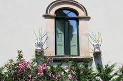 Têtes mauresques siciliennes Images stock