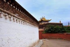 Tíbet Tample Fotografía de archivo libre de regalías