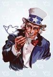 Tío Sam pacífico Stock de ilustración