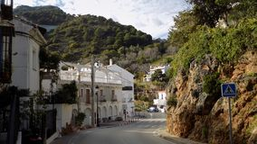 ¡ Típico laga-Andaluzia-Espanha-Europa da rua-OJEN-MÃ Fotos de Stock Royalty Free