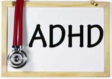 Título de ADHD Imágenes de archivo libres de regalías