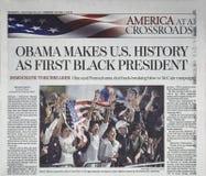 Título de jornal imagem de stock royalty free