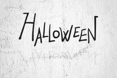 Título de la celebración de Halloween Imágenes de archivo libres de regalías