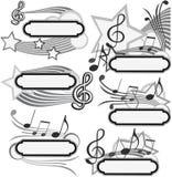 Título de la música Fotografía de archivo libre de regalías