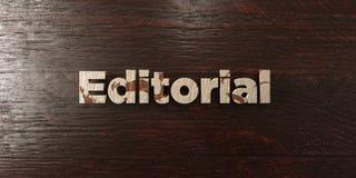 - Título de madeira sujo no bordo - 3D editorial rendeu a imagem conservada em estoque livre dos direitos Fotografia de Stock Royalty Free