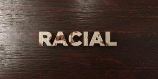 - Título de madeira sujo no bordo - 3D racial rendeu a imagem conservada em estoque livre dos direitos ilustração do vetor