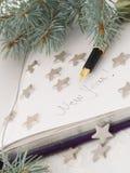 Título del Año Nuevo Imágenes de archivo libres de regalías