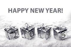 título 2015 del calendario Fotos de archivo libres de regalías