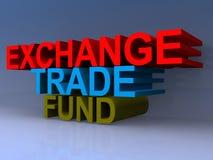 Título del fondo del comercio del intercambio ilustración del vector