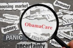 Título do cuidado de Obama imagens de stock royalty free
