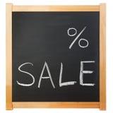 Título vazio da venda dos por cento Imagens de Stock