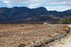 título 4wd para escalas remotas do flinders Fotos de Stock Royalty Free